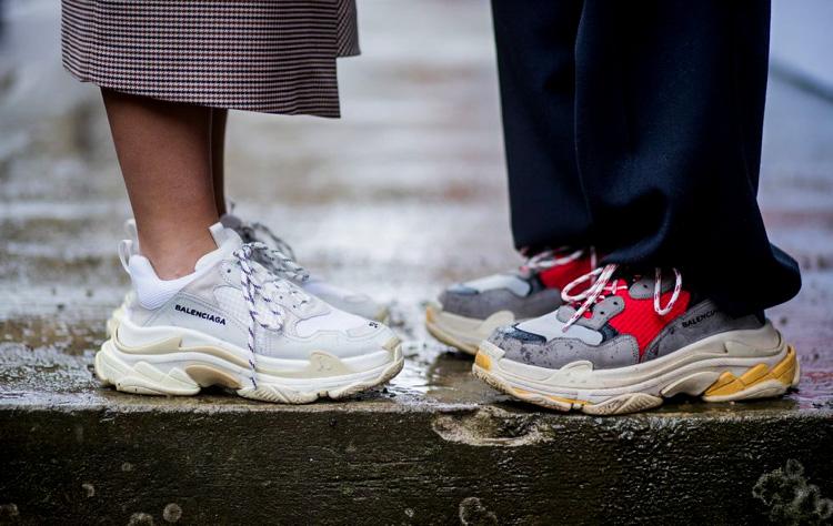 Ein neuer Fashion Trend macht die Runde und er könnte schrecklicher nicht sein: Sogenannte Chunky Sneaker sollen das Must Have 2018 sein, doch glücklicherweise teilt nicht jeder diesen schrägen Geschmack | hot-port.de | Style Blog aus deutschen Landen