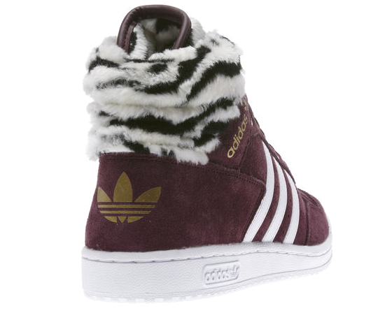 Sneaker Freaker | Adidas Pro Conference Hi Light Maroon Zebra Style Trend