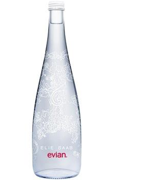 Evian Design Flasche by Elie Saab