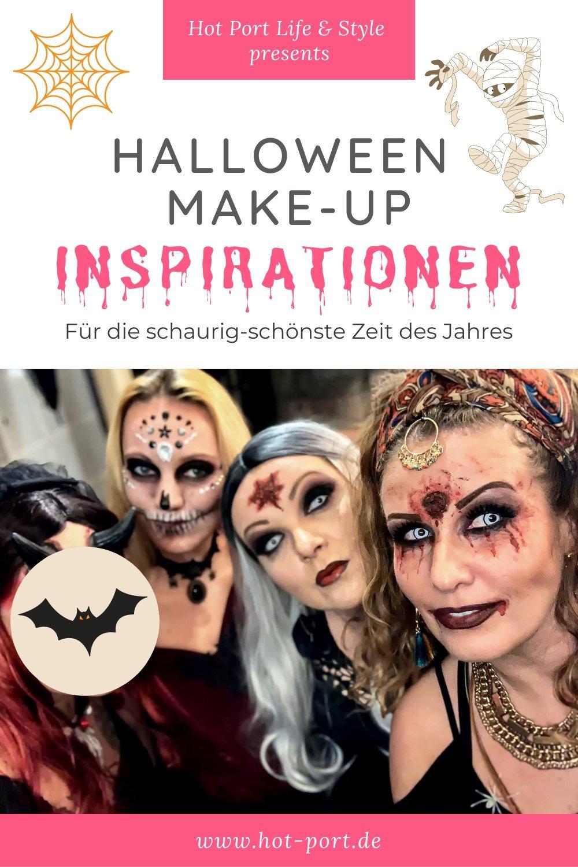 Alle Jahre wieder möchte man an Halloween mit dem schönsten äh Tschuldigung gruseligsten Kostüm punkten. Doch oftmals fehlen einem einfach die Inspirationen dazu. Glücklicherweise hat eine gute Bekannte uns im letzten Jahr so genial zu Halloween geschminkt, dass ich perfektes Futter für einen Blogbeitrag hatte | Hot Port Life & Style | Lifestyle Blog aus Deutschland