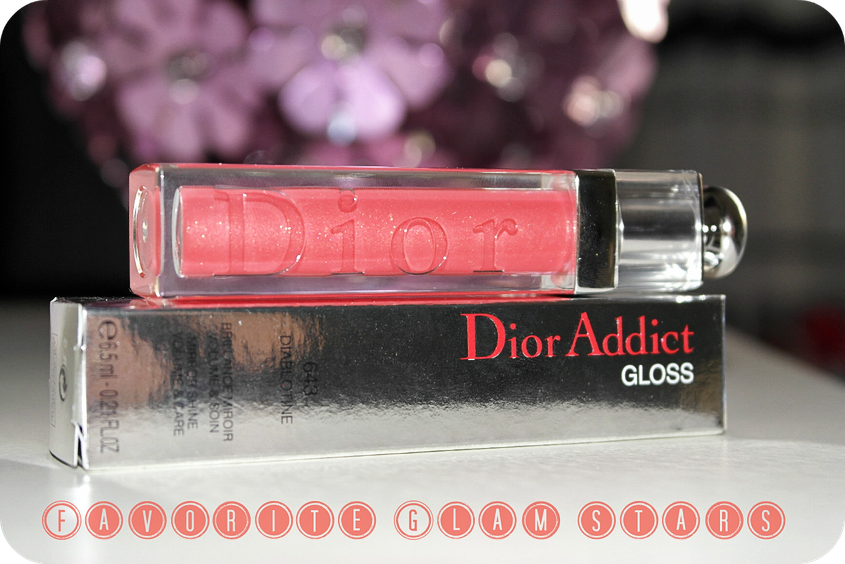 Dior Addict Lipgloss Favorite Glam Stars