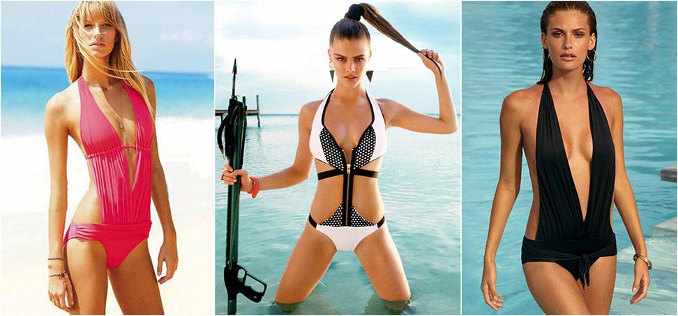 Die Zauberformel für sexy Bademomente lautet Deep V | Ein ultra heißer Bademodenkracher, dem garantiert alle Blicke gesichert sind | Hot Port Life & Style | 30+ Style Blog