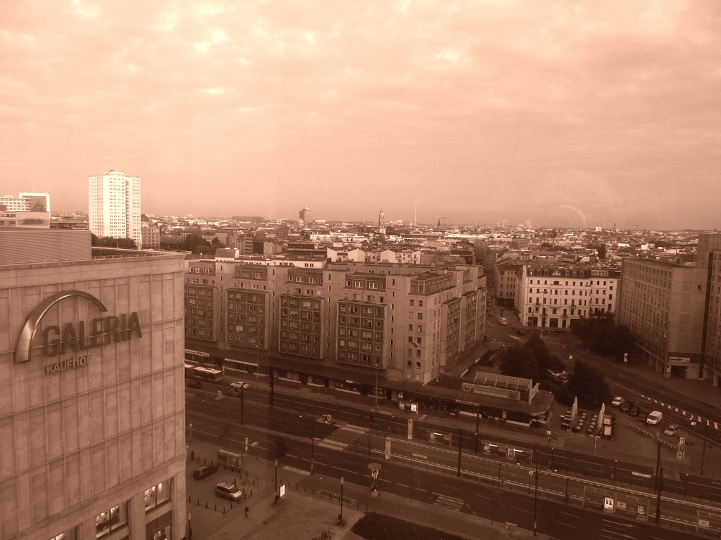 Ausblick auf Berlins Straßen