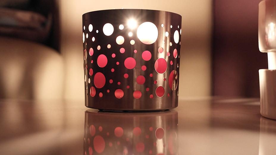 Lifestyle Trend Metall Kerzenlicht | Probiers mal mit Gemütlichkeit! Auf meinem Blog hält sie schon mal Einzug
