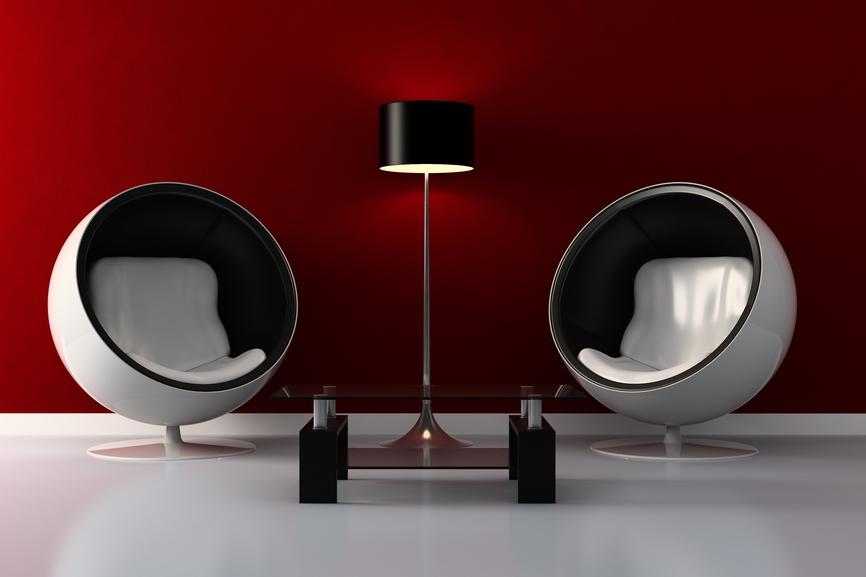 Der Inbegriff des Retro Stils: Egg Chair