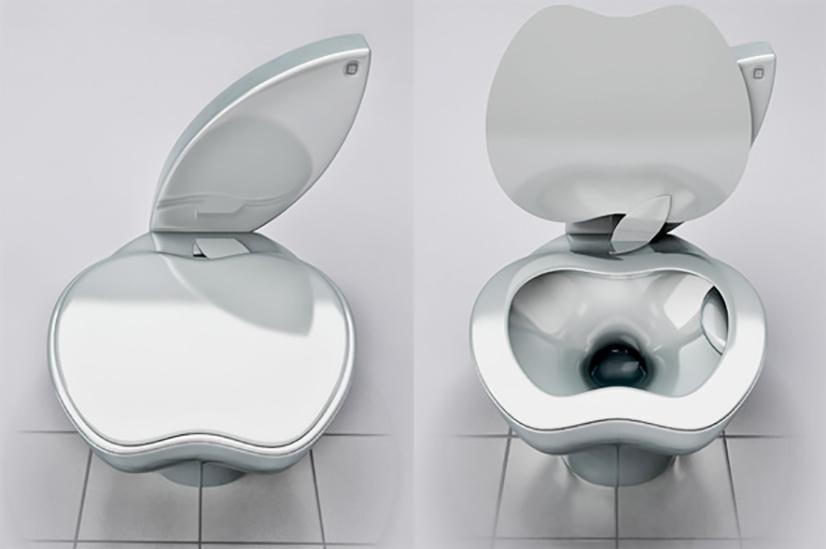 Du hast genauso ein Faible für ausgefallene Design Sachen wie ich? Prima! Dann solltest Du Dir das iPoo, eine Toilette im Apple Style, keineswegs entgehen lassen | Hot Port Life & Style | 30+ Trends Blog from Germany