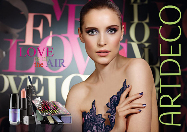 Artdeco Love is in the Air Beauty Spring Campaign 2014