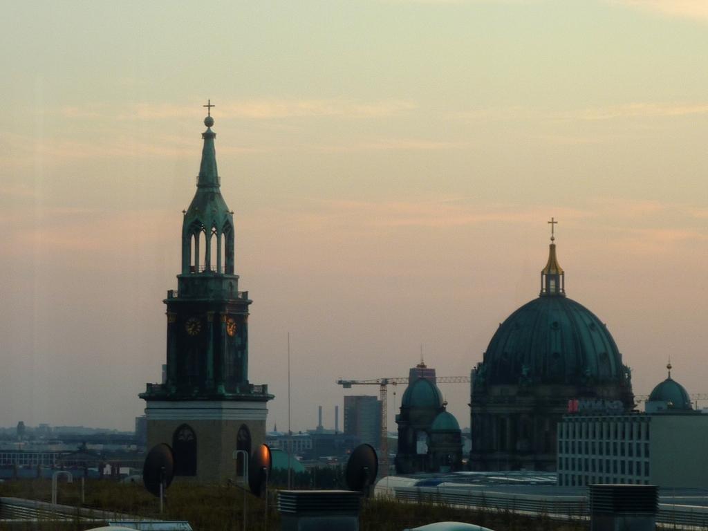 Ausblick auf Berlins Kirchen