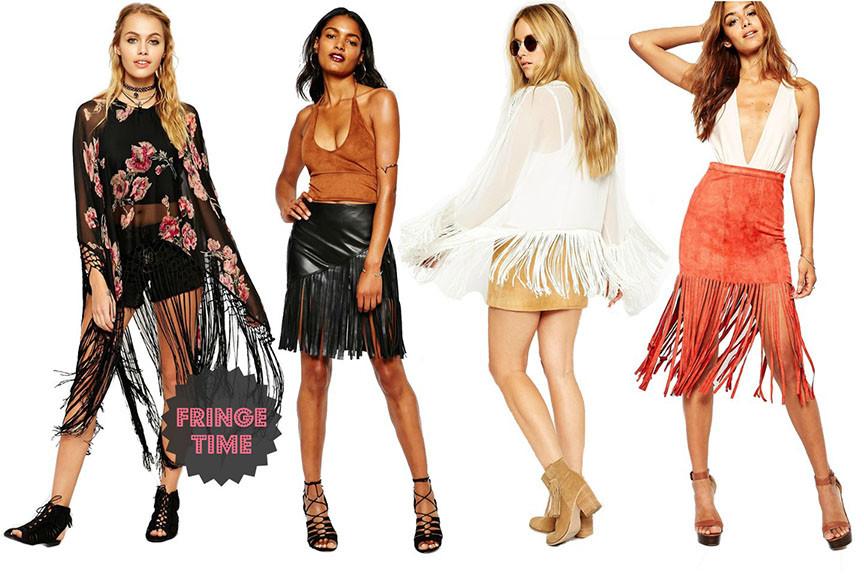 Fransen sind der Modetrend 2015
