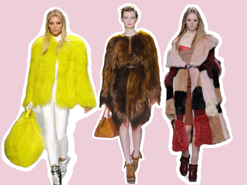 Crazy Fashion Style on the Blog | Fur Coats & Dresses like the Sesame Street
