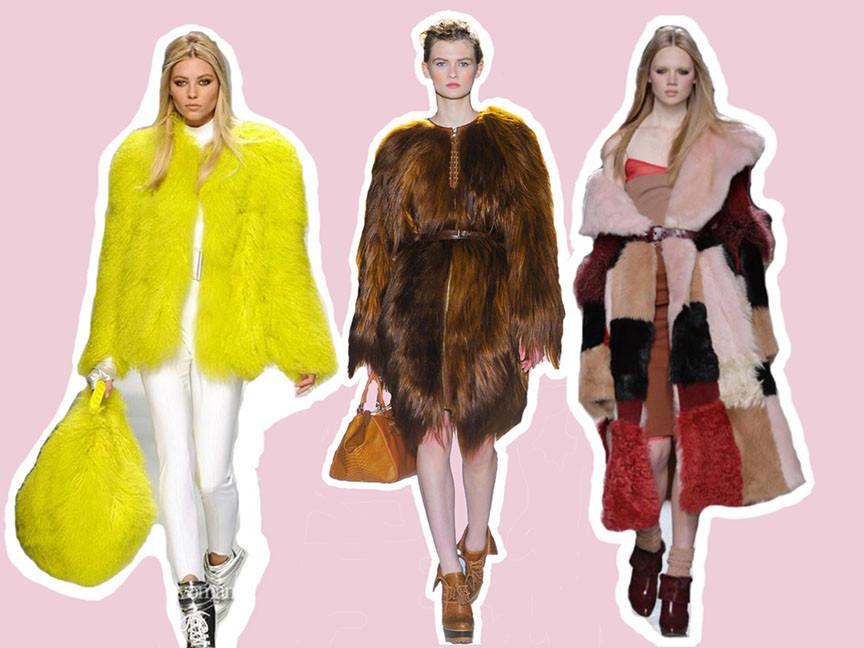 Crazy Fashion Style on the Blog | Fur Coats & Dresses like the Sesame Street