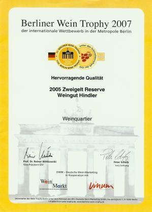 Berliner Wein Trophy 2007