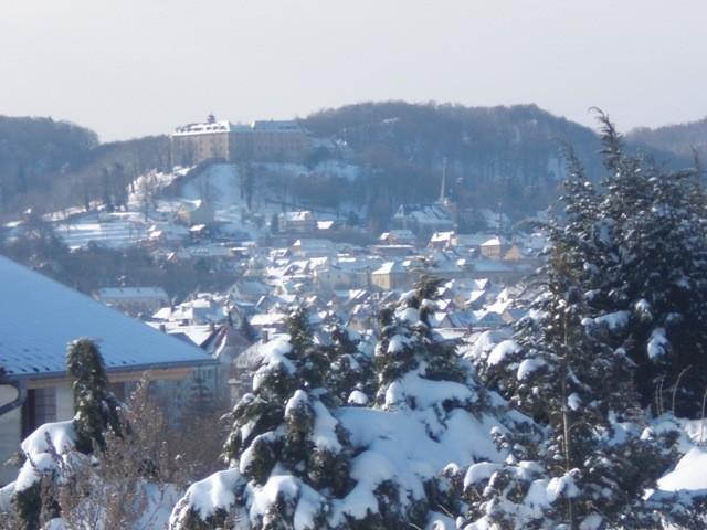 Blankenburg - Blick zum Großen Schloss
