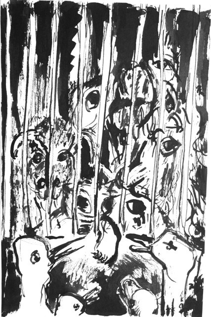 Die gefangenen Tiere  WDS 1983