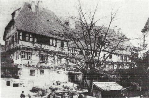 Das Pfründhaus um 1860