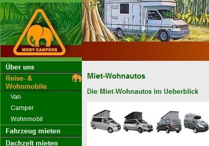Camper mieten Mitteland