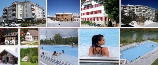 Hotels Mittelland und Schweizrundreise