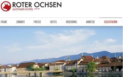 Altstadt Hotel Solothurn Radhotel