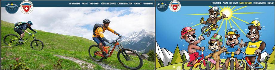 Skurlaub Schweiz und bikeschule Schweizeralpen