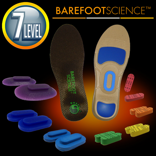 BAREFOOT SCIENCE 上級アーチサポート用インソール フルサイズ