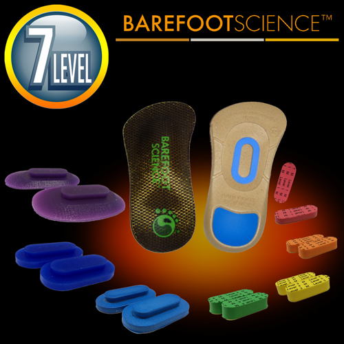 BAREFOOT SCIENCE 上級アーチサポート用インソール 3/4サイズ