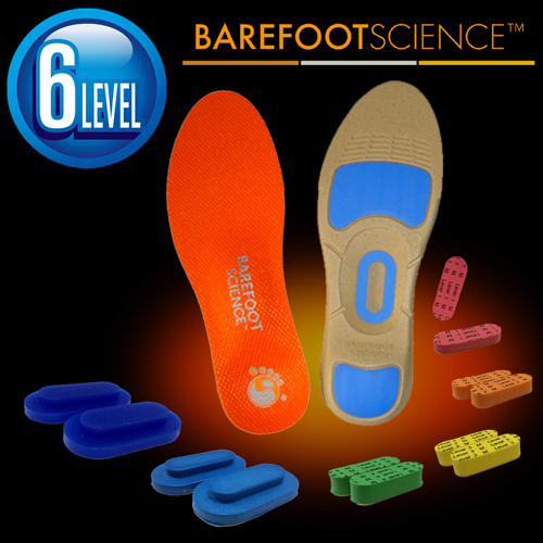 BAREFOOT SCIENCE 中級・運動 スポーツ用インソール フルサイズ