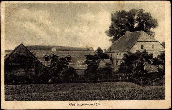 Das Gut Schreibermühle als Arbeitsanatorium für ehemals kriegsgefangene Deutsche