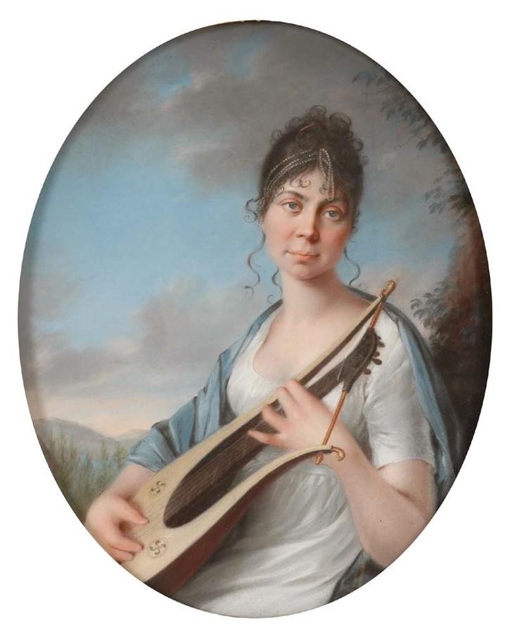 Fürstin Therese von Thurn und Taxis, geborene prinzessin von Mecklenburg-Strelitz. Sie hatte ein Verhältnis mit einem Grafen Lerchenfeld und eine unehelichte Tochter.