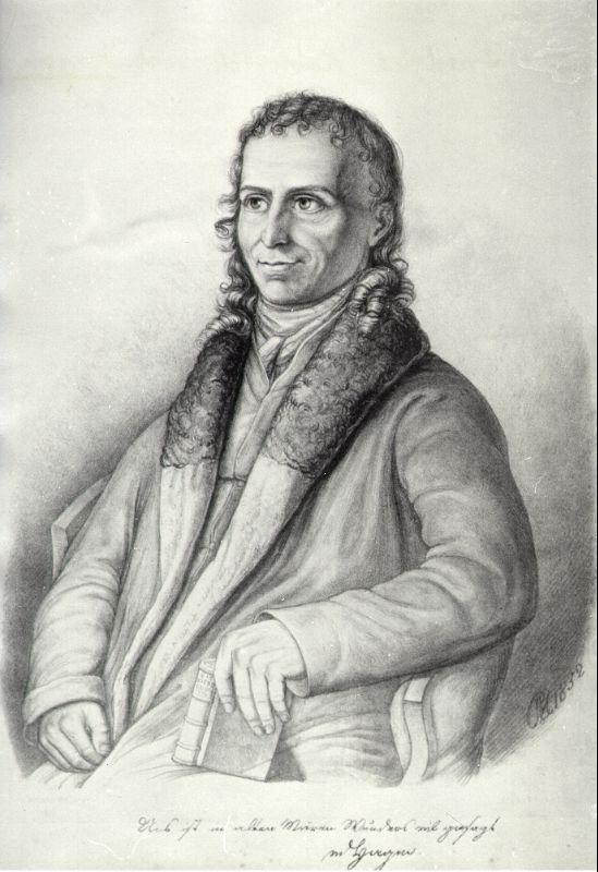 Friedrich Heinrich von der Hagen war der erste Germanistikprofessor in Berlin.