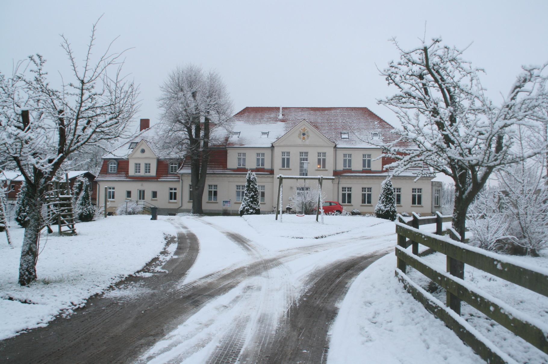 Das Gutshaus von Ave bei Penzlin