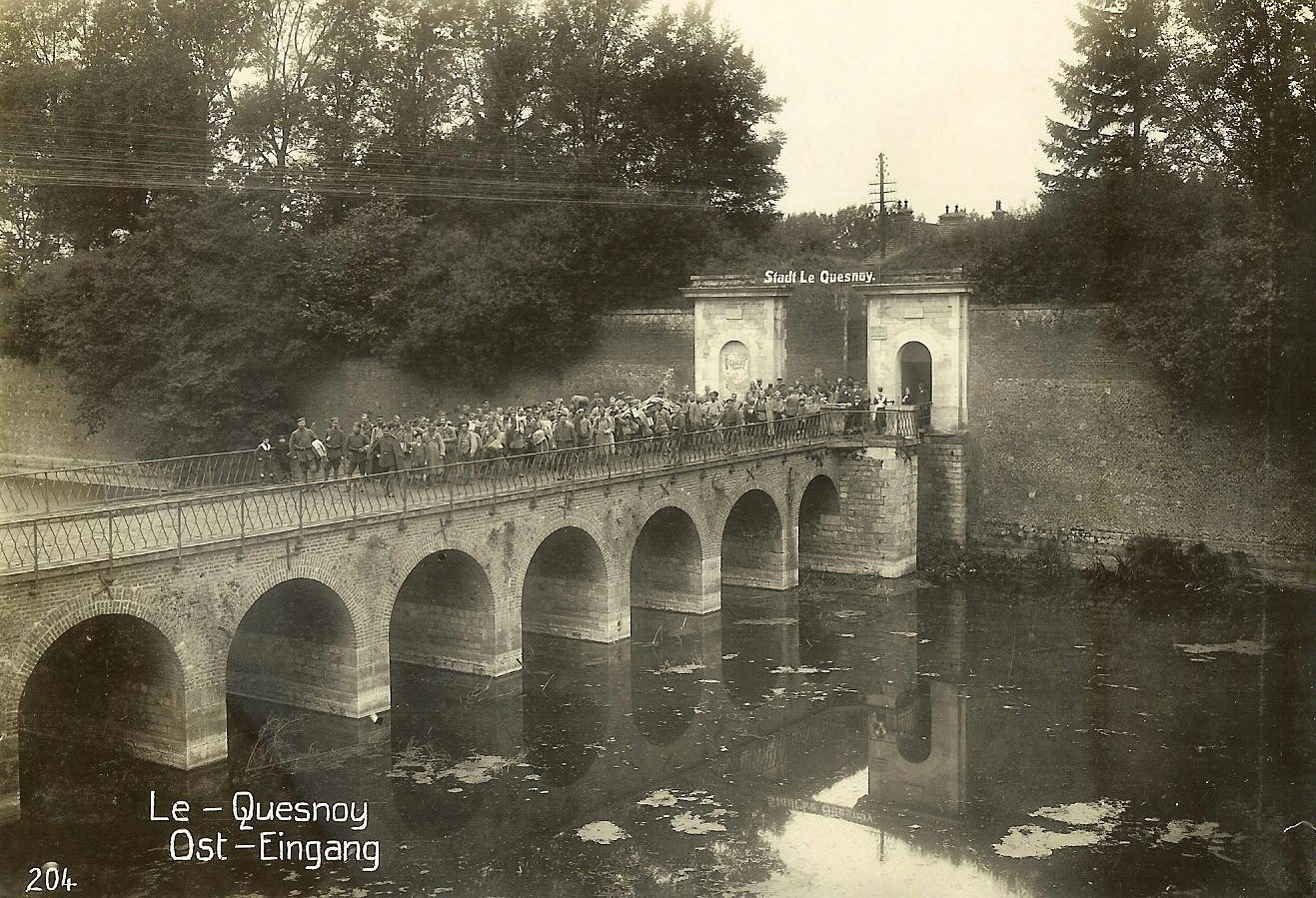 Vom Jahreswechsel 1914/15 bis 1917 war Georg Gustav von Arnim aus Suckow Kommandeur der besetzten französischen Festung Le Quesnoy.     Foto: Heider/Europeana