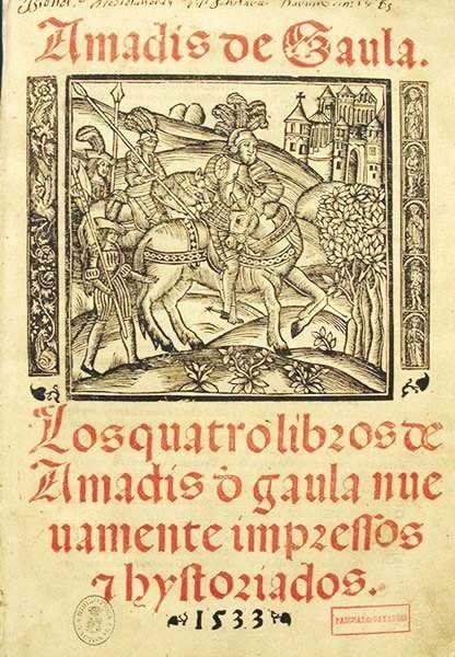 Während der Renaissance waren die Amadis-Romane die beliebteste Lektüre in Europa.