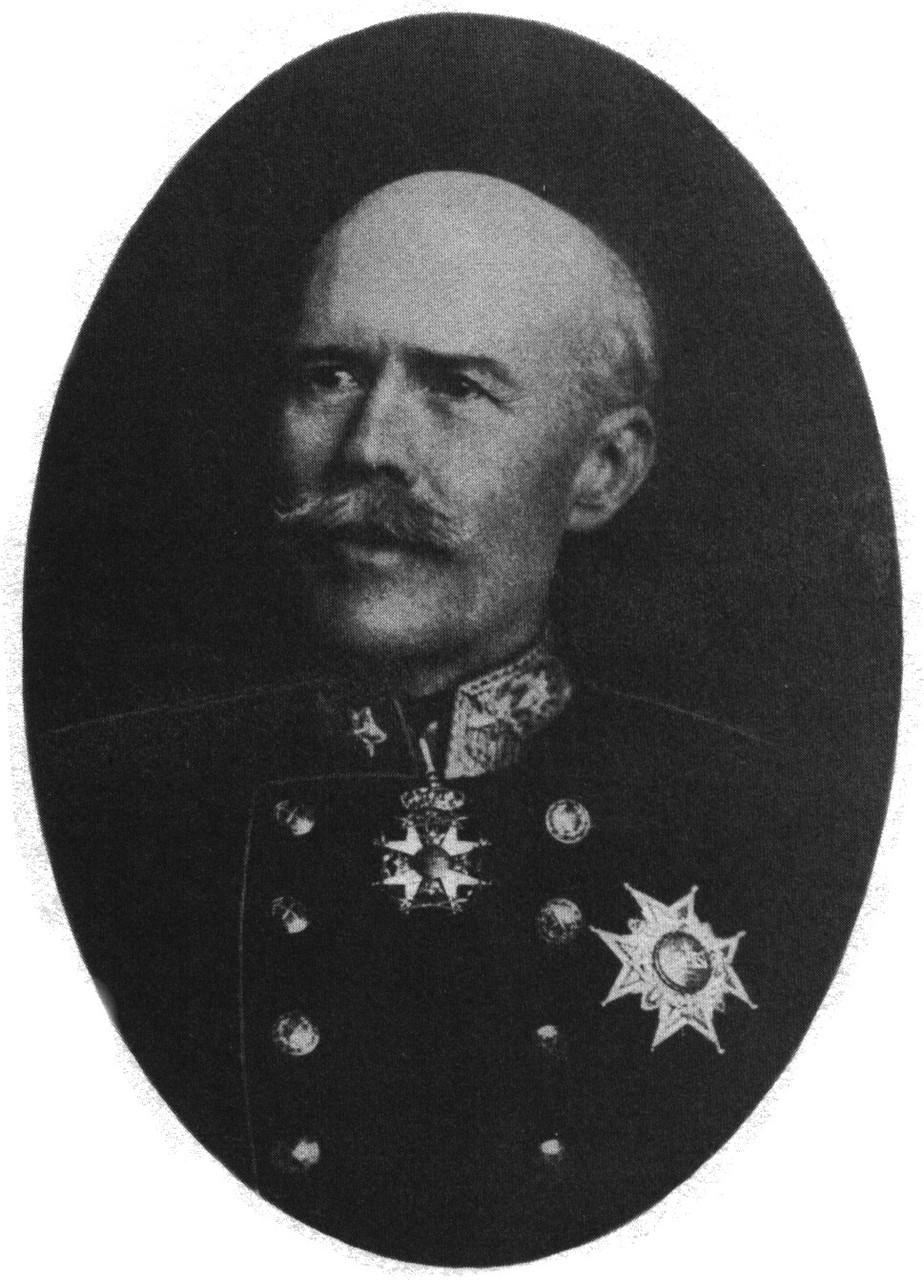 Elsas vater, Per Henrik Edvard Brändström (1850–1921), russsicher Militärattachés in Schweden