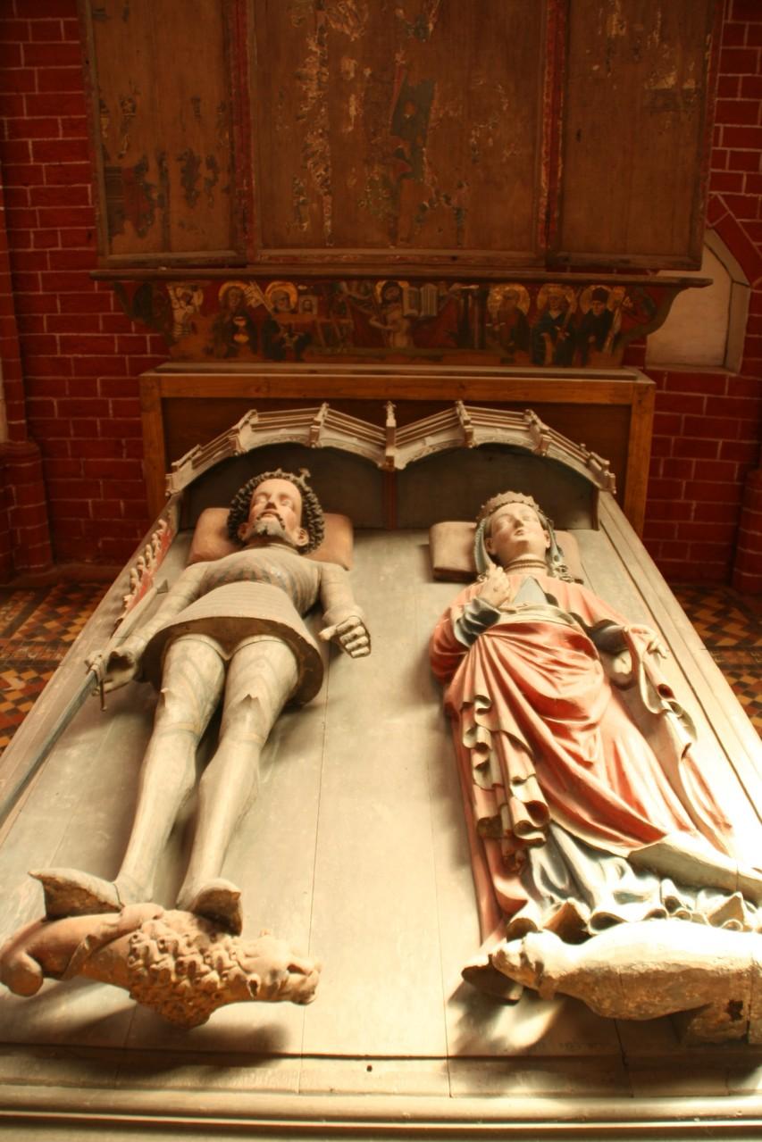 Die Gramtumba von Albrecht III. und Richardis