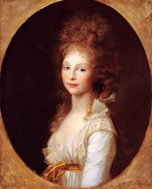 Prinzessin friederike von Mecklenburg-Strelitz. Ein Onkel ihres ersten Mannes rühmte sich eines Verhältnisses mit ihr.