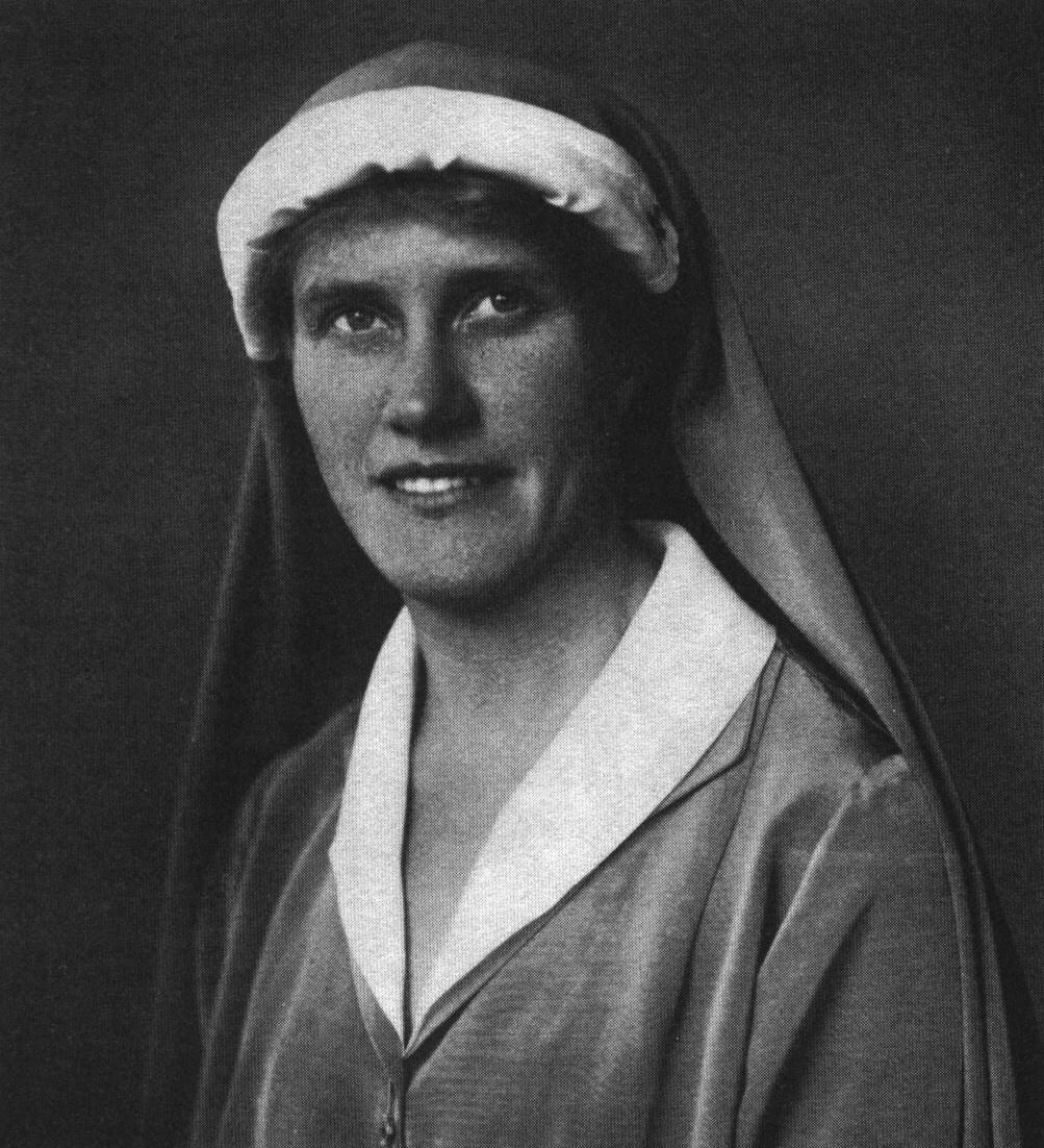 Die schwdische Philantrophin Elsa Brandström, Engel von Sibirien, Engel der Gnade
