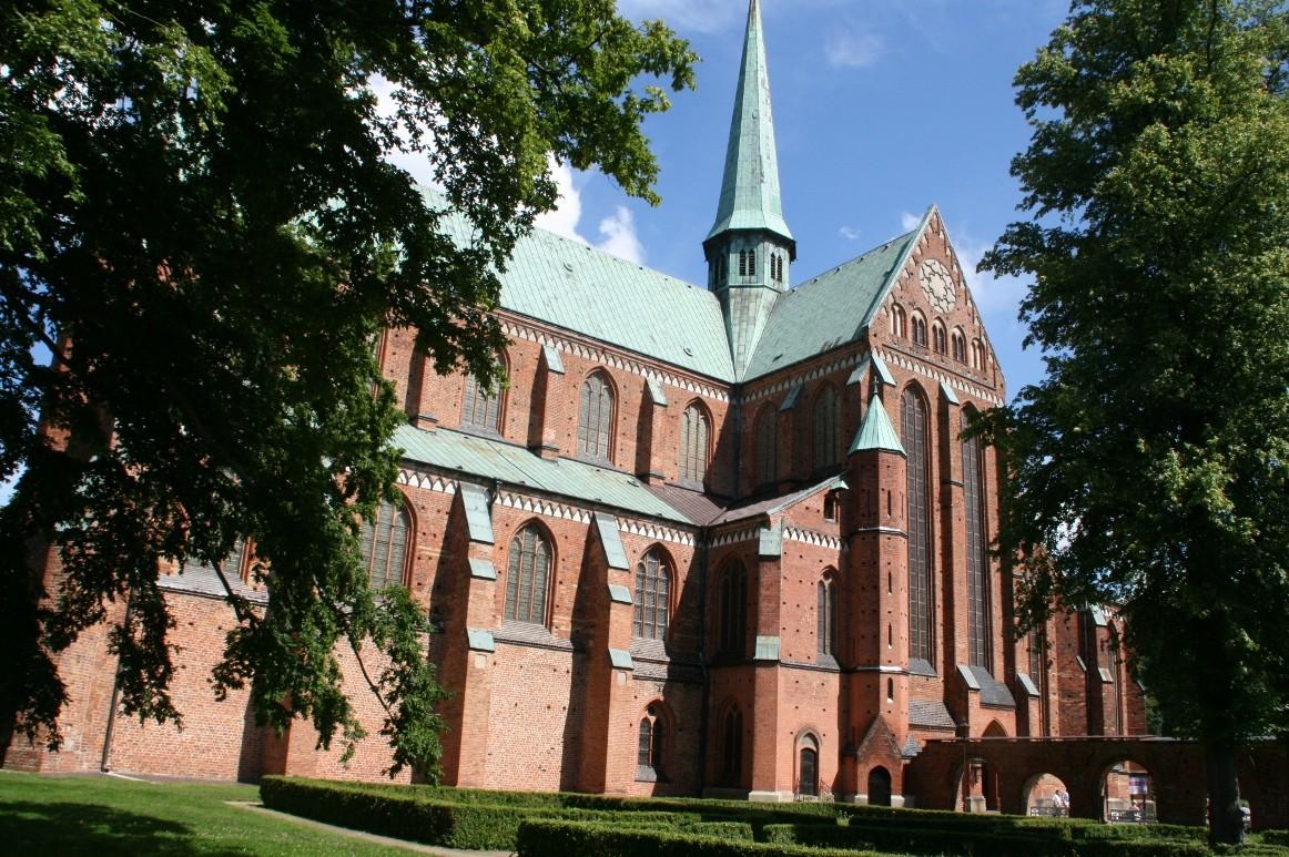 Das Doberaner Münster ist Grablege für 56 Angehörige des Hochadels.