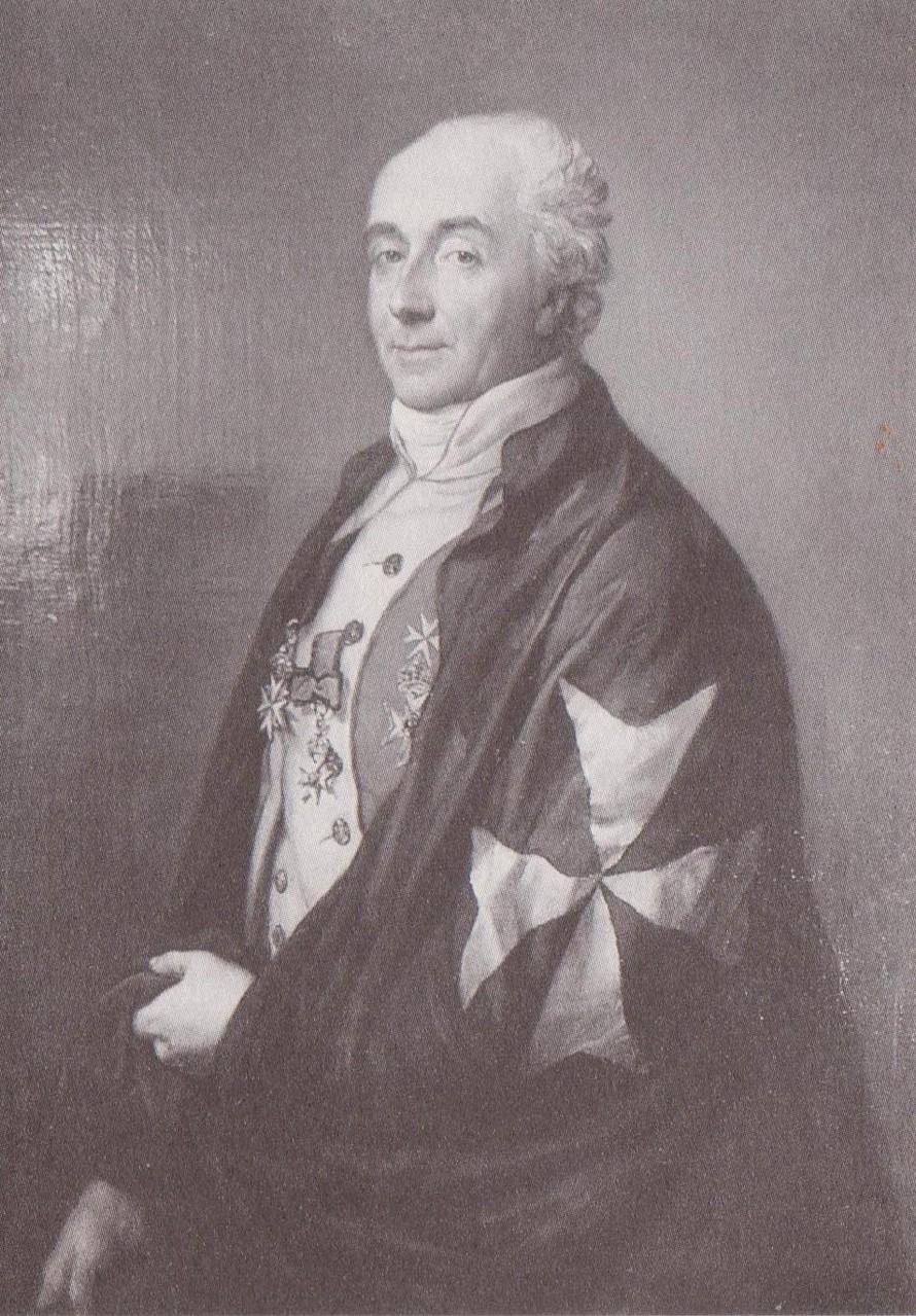 Carolines Ehemann, Karl Ludwig von Berg war Herr auf Schönfeld, Kleptow und klein Spiegelberg.