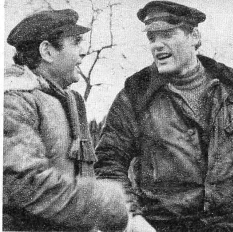 Zu den Hauptdarstellern gehörten Edwin Marian, der auch das Drehbruch lieferte, und Frank Obermann.