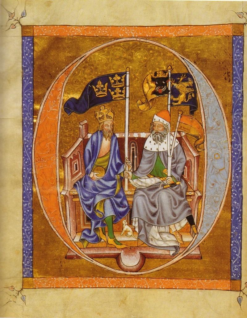 Abrecht III. und sein Vater