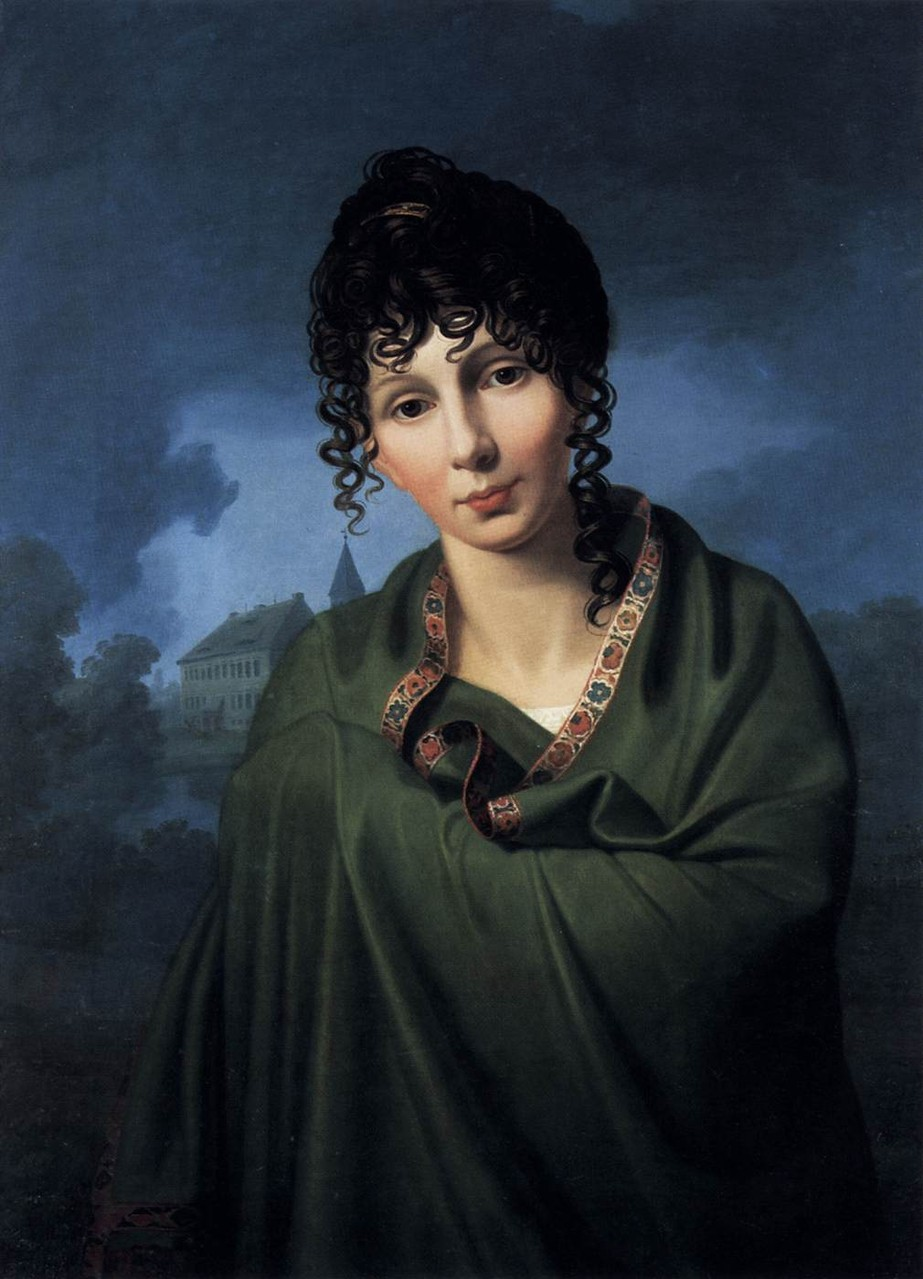 Caroline von Bergs Tochter, die Gräfin Luise von Voß