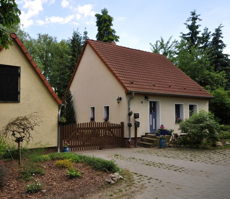 Das Geburtshaus von Ehm Welk im Schäferweg 13 in Biesenbrow ist bestens in Schuss.