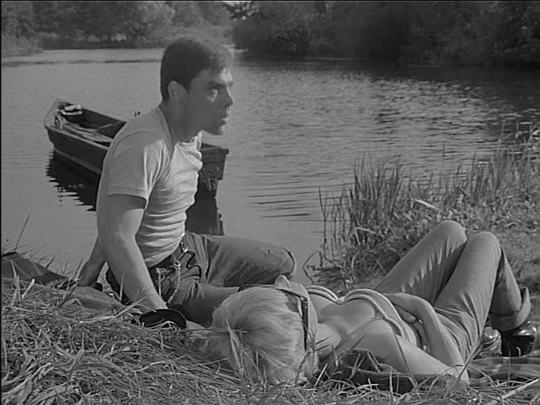 Egon (Gunter Schoß) und seine große Liebe Christine (Traudel Kulikowsky)