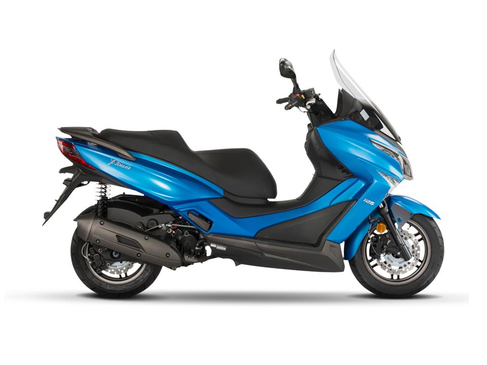 In matt blau als 300ccm Version bei uns sofort verfügbar!