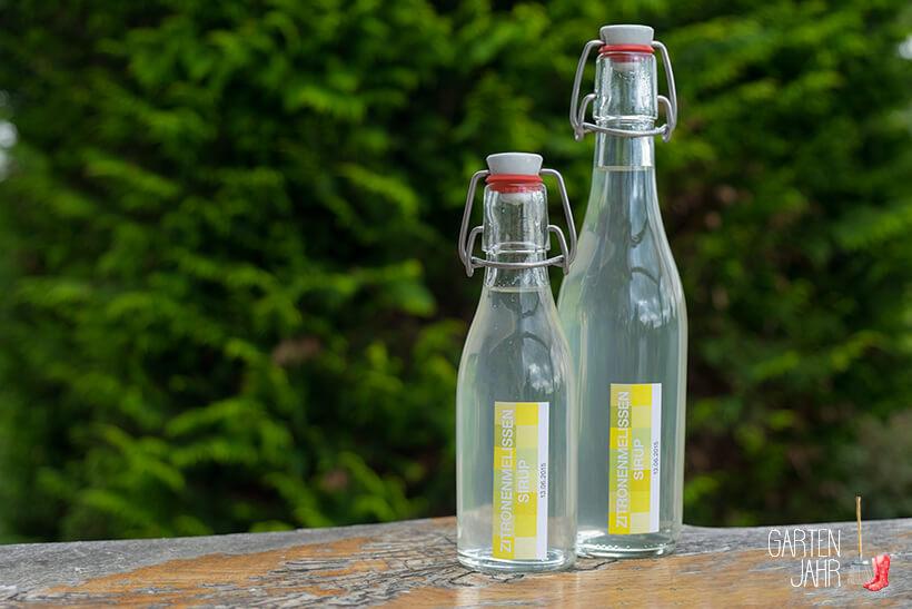 Rezept Zitronenmelissensirup selber machen