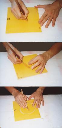 木版画彫り