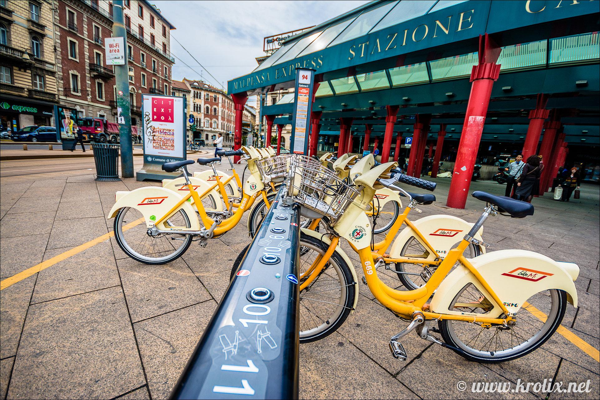 7. Миланские велосипеды.
