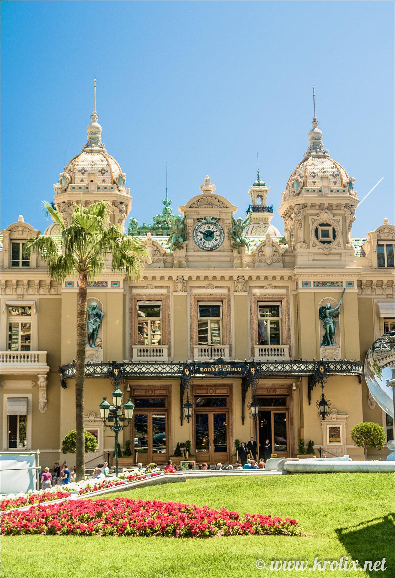 1. Здание казино Монте-Карло.