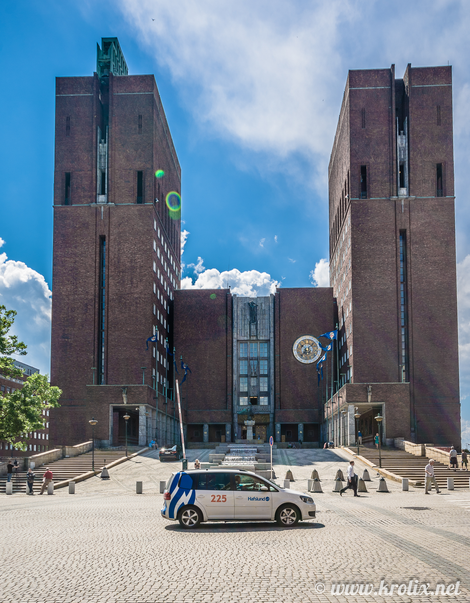 1. Здание ратуши