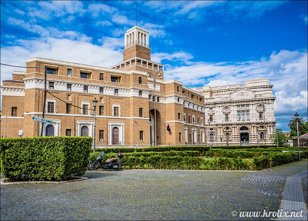 7. Castel Sant'Angelo мы прошли стороной...